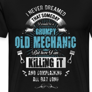 Grumpy Old Mechanic - Men's Premium T-Shirt