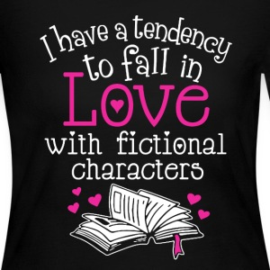 Fall In Love With Fictional Characters - Women's Long Sleeve Jersey T-Shirt