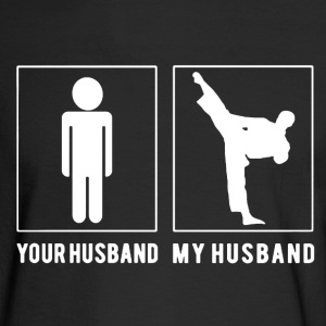 Karate Husband Shirts - Men's Long Sleeve T-Shirt