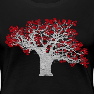 Crimson Tree - Women's Premium T-Shirt