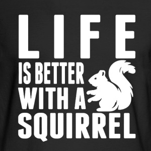 Squirrel Shirt - Men's Long Sleeve T-Shirt
