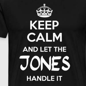 Let The Jones Handle It - Men's Premium T-Shirt