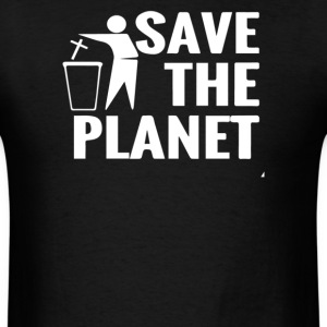 Save The Planet Atheist - Men's T-Shirt