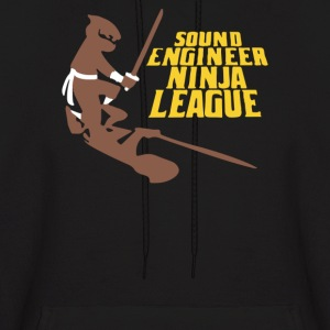 Sound Engineer Ninja League - Men's Hoodie
