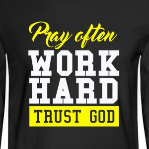Trust God - Men's Long Sleeve T-Shirt