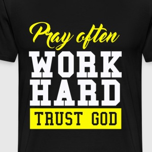 Trust God - Men's Premium T-Shirt