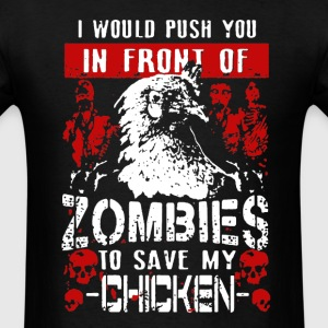Save My Chicken Shirt - Men's T-Shirt