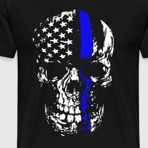 Thin Blue Line Shirt - Men's Premium T-Shirt