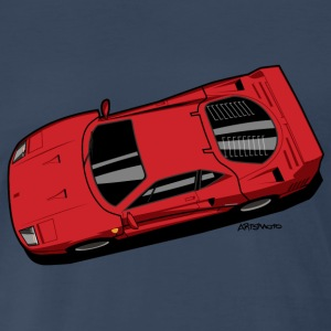 F40 Berlinetta Rosso - Men's Premium T-Shirt
