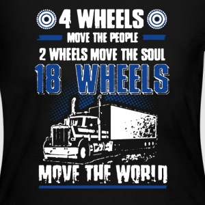 18 Wheels Move Shirt - Women's Long Sleeve Jersey T-Shirt