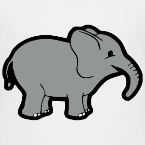 Baby Cartoon Elephant Baby & Toddler Shirts - Toddler Premium T-Shirt
