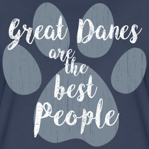 Great Danes, Best People T-Shirts - Women's Premium T-Shirt