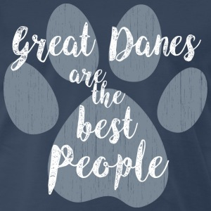Great Danes, Best People T-Shirts - Men's Premium T-Shirt