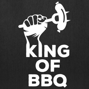 King of BBQ grill barbecue sausage Bags & backpacks - Tote Bag