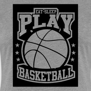 Eat Sleep Play Basketball T-Shirts - Women's Premium T-Shirt