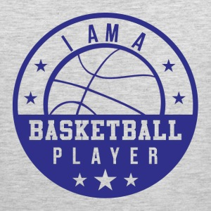 I am A Basketball Player Sportswear - Men's Premium Tank
