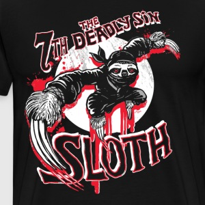 7th Deadly Sin Ninja Sloth - Men's Premium T-Shirt