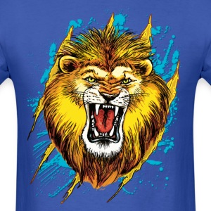 Alpha Lion Roars - Men's T-Shirt