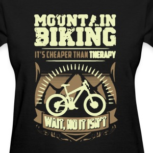 Mountain Biking Therapy Shirt - Women's T-Shirt