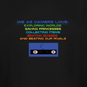 We Gamers Love T-shirt - Men's Tall T-Shirt