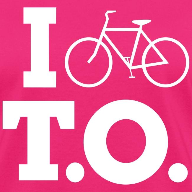 Women - I Bike T.O. - Fuchsia