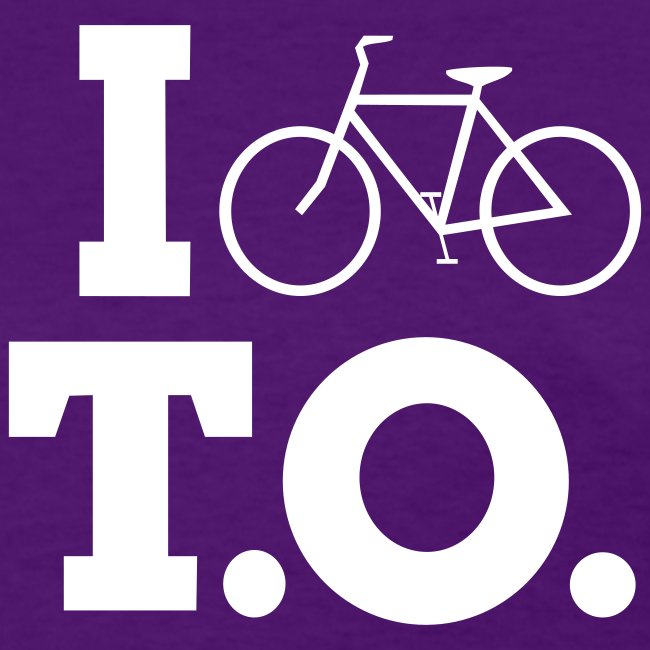 Women - I Bike T.O. - Purple