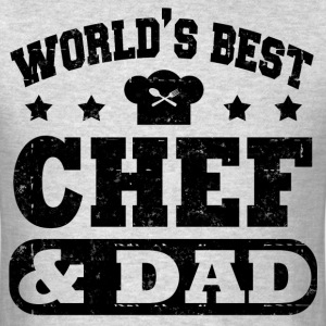 CHEF AND DAD56.png T-Shirts - Men's T-Shirt