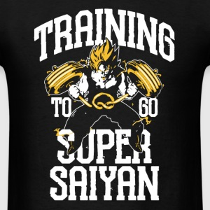 Training Goku Shirt - Men's T-Shirt