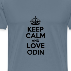 Keep calm and love odin T-Shirts - Men's Premium T-Shirt