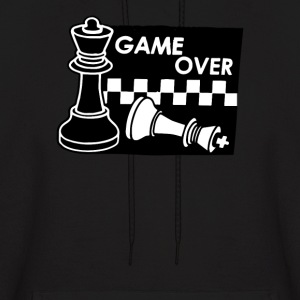 Checkmate Game Over - Men's Hoodie