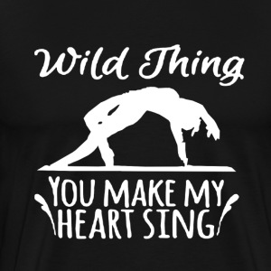 Yoga Make My Heart Sing - Men's Premium T-Shirt