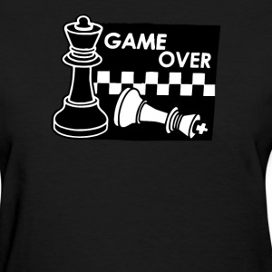 Checkmate Game Over - Women's T-Shirt