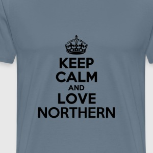 Keep calm and love northern T-Shirts - Men's Premium T-Shirt