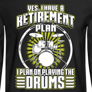Drums Shirt - Men's Long Sleeve T-Shirt