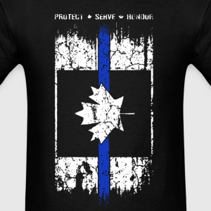 Thin Blue Line Canada - Men's T-Shirt