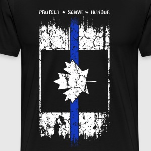 Thin Blue Line Canada - Men's Premium T-Shirt