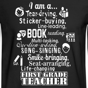 Grade Teacher Shirt - Men's Long Sleeve T-Shirt