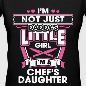 Chef's Daughter Shirt - Women's V-Neck T-Shirt