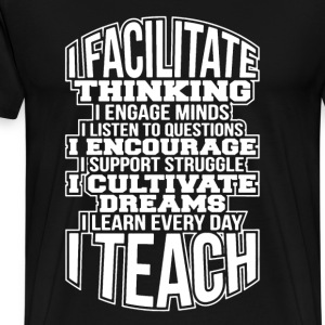 Teach Shirt - Men's Premium T-Shirt