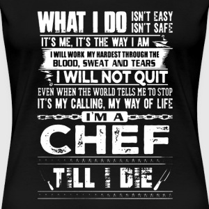Chef Shirt - Women's Premium T-Shirt