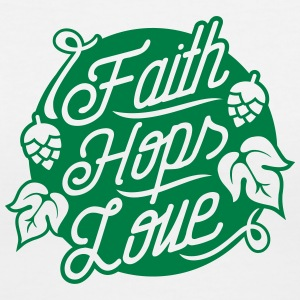 Faith, Hops, Love T-Shirts - Women's V-Neck T-Shirt
