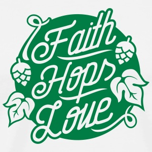 Faith, Hops, Love T-Shirts - Men's Premium T-Shirt