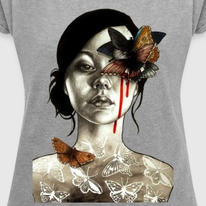tattoo - Women´s Roll Cuff T-Shirt