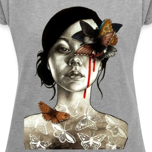tattoo - Women´s Rolled Sleeve Boxy T-Shirt