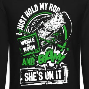 Fishing Shirt Hold My Rod - Crewneck Sweatshirt