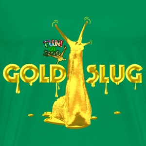 GOLD SLUG ! (BLACK) - Men's Premium T-Shirt