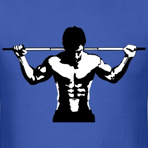 Weightlifting Muscle Sports Art Design T-Shirts - Men's T-Shirt