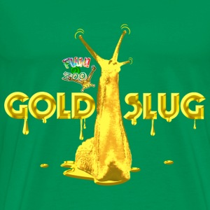 GOLD SLUG ! (WHITE) - Men's Premium T-Shirt