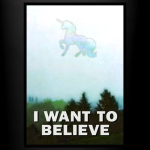I Want to Believe Unicorn Mugs & Drinkware - Full Color Mug