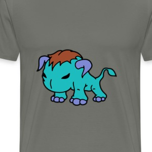 Blue Bull T-Shirts - Men's Premium T-Shirt